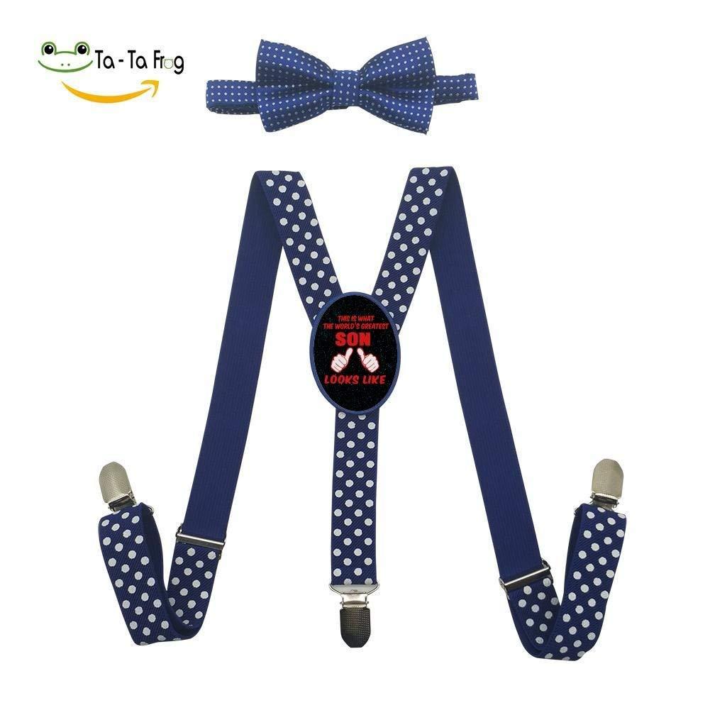 YueLian Kids Babies Solid Adjustable Suspenders Pink