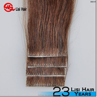 YBY remy softy super sticker 4*1cm wholesale human hair Bright Tape Hair Extensions