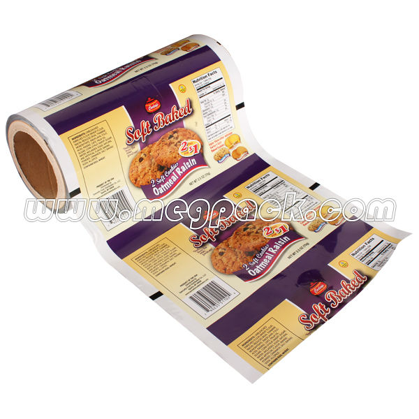 BOPP Plastic Food Wrapping Cookie Film