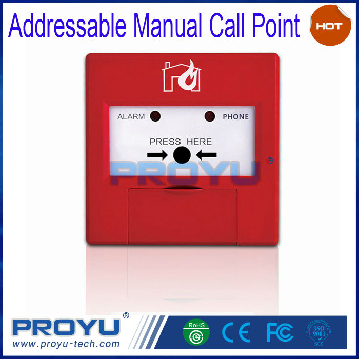 New Type Dc24v Addressable Manual Call Point(mcp) Widely Used For ...