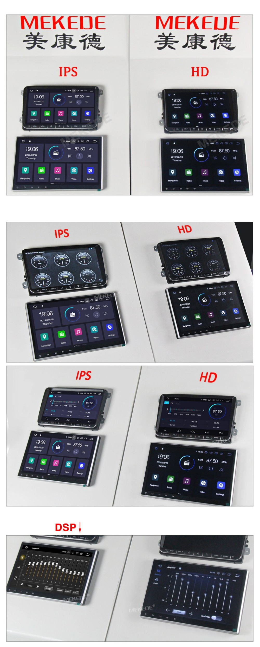 Mekede Px30 Android 9 0 With Dsp+ips Screen Car Dvd Gps Player For Bmw 3  Series E46 Mg Zt Rover 75 With 2g Ram 16g Rom - Buy Mekede 1 Din 7 Inch  Px30