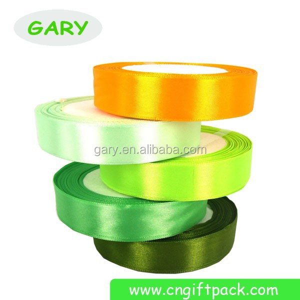 Polyester Satin Woven Edged Ribbon