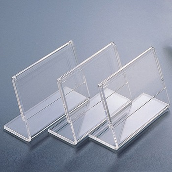 clear acrylic name card business card display stand holder - Business Card Display