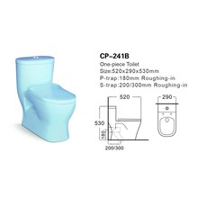 Children Bathroom Sanitary Ware moden colorful design Bathroom Toilet Commode One Piece WC Toilet