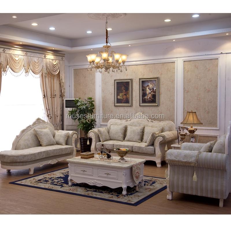 Franse barok 2015 luxe woonkamer bankstel europese antieke stijl sofa s7005 prachtige kasteel - Sofa stijl jaar ...
