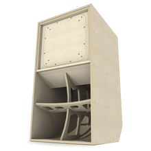 18 inch kosong line array <span class=keywords><strong>speaker</strong></span> kabinet kotak kayu SCOOP-18 <span class=keywords><strong>OEM</strong></span> dengan 18mm ketebalan