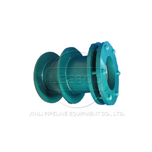 Flexible stainless collar flange pipe fitting