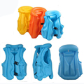 Children Swim Vest Kid Swimming Learning Jacket Inflatable Safety Training Baby Float Ring Beach Swimming Pool
