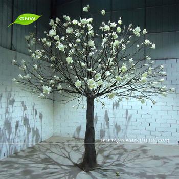 Gnw Btr1505001making Artificial White Magnolia Flower Trees Decorative Tree Wedding Wish For Decorations
