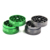 Fashion 2parts 40mm Metal aluminium alloy herb grinder flat creative candy colors  manual Tobacco grinder  factory direct sale