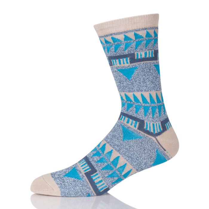 Bulk Wholesale Crazy Socks Men Crew Cotton Socks 100% Knitted Funky Mens Dress Socks