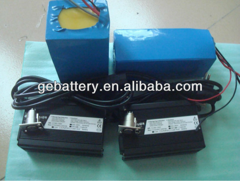 Rechargeable lithium electric vehicle battery 48v 20ah