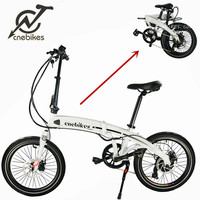 New Model 20 Inch Fat Tire Folding E Bike/Foldable Electric Bicycle 36V Motorlife Electric Bike Folding