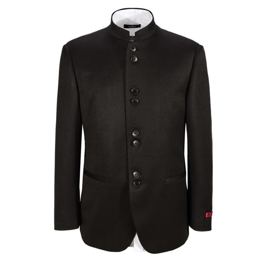 Compra Cuello mao chaqueta de traje online al por mayor de