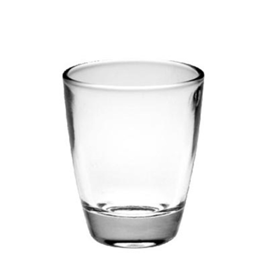 30ml 1oz customized free sample clear vodka shot glass