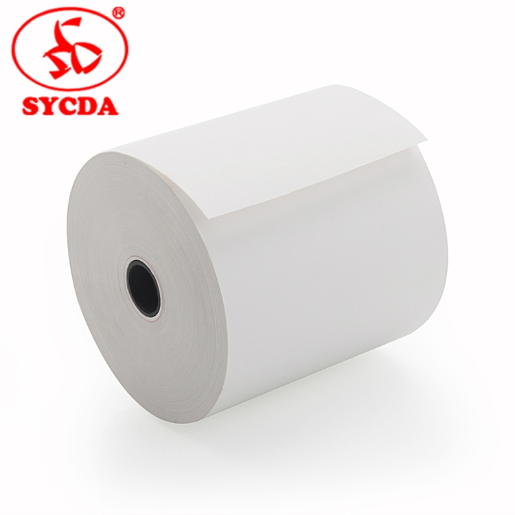 55g Thermal Receipt Paper 80 x 80 Thermal Paper Rolls From China