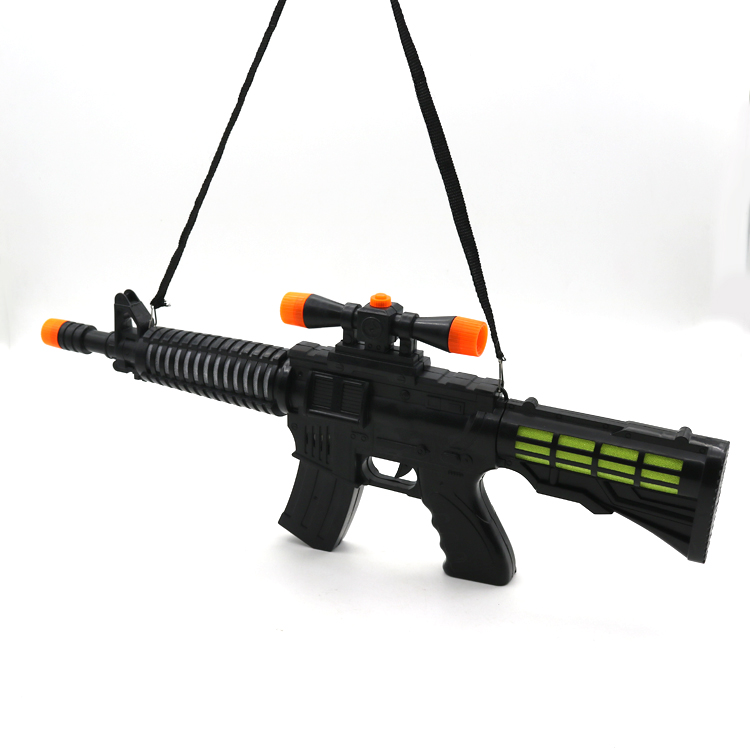 Newest design electroniic big size machine flash sound toy <strong>gun</strong> with for kids