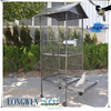 decorative steel round meterial bird cage large human size