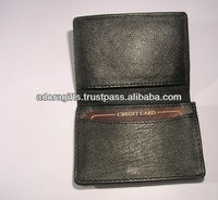 professional vertical card holder / credit card holder wallets / leather name card case