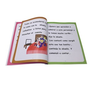 Full color children pictures paperback book printing