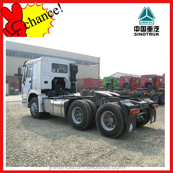 howo tractor truck/chinese trctors/truck trailer from china