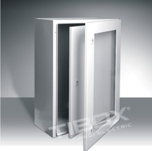 IP66/IK10/TIBOX CHINA Plexiglass door+ Inner door metal distribution box