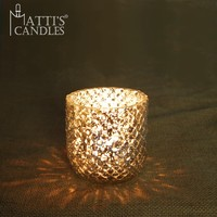 Matti's clear candle holder,glass candle holder,tea light candle holder