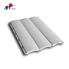 Outdoor Semi-Industrial Aluminum Roller Shutter Window