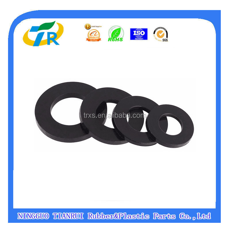 Chinese rubber products manufactuere Silicone rubber flat washers / rubber o rings / rubber gaskets