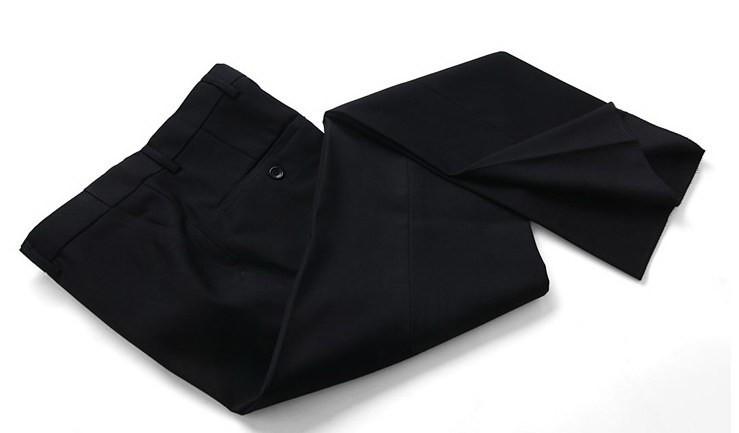 (Kurtki + Spodnie) 2016 Nowych Mężczyzna Garnitury Slim Fit Niestandardowe Garnitury Smokingi Marka Moda Bridegroon Biznes Suknia Ślubna Blazer H0285 82