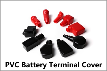 Insulated electric car end caps plastic battery rubber terminal covers