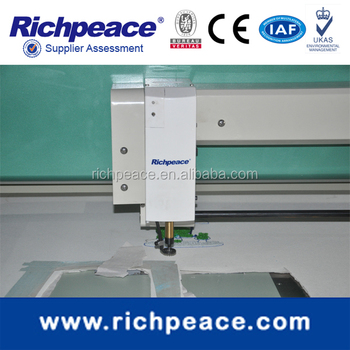 richpeacecomputerized pure chenille embroidery machine