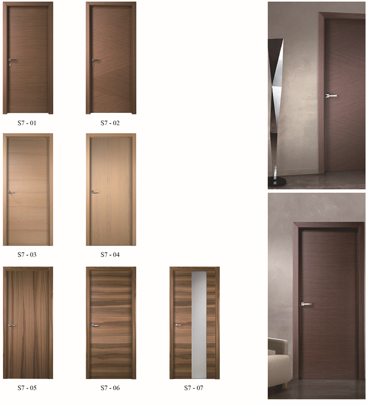 Black Walnut Veneer Solid Core Prefinished Commercial Interior Wood Doors Buy Prefinished