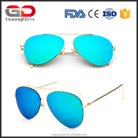 High Quality Flat Lens Sunglasses Women Fashion Sun glasses Men Classic Brand Designer Goggles Retro Eyewear Oculos De Sol