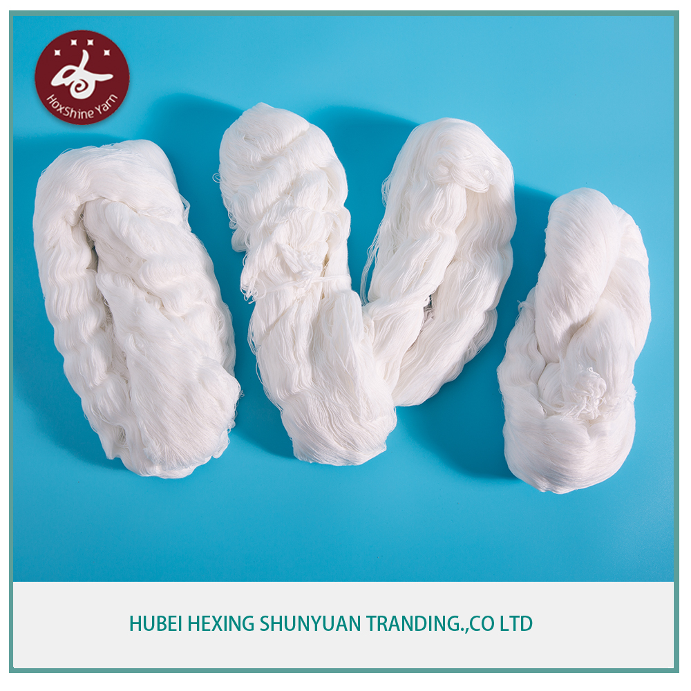 50/3 raw white hank yarn for sewing machine