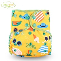 promotion reusable organic one size bamboo snaps insert cloth diapers