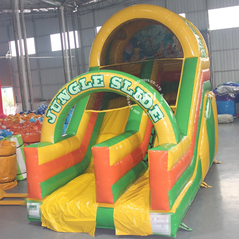 Good quality commercial and family used cheap inflatable bouncy slide, inflatable