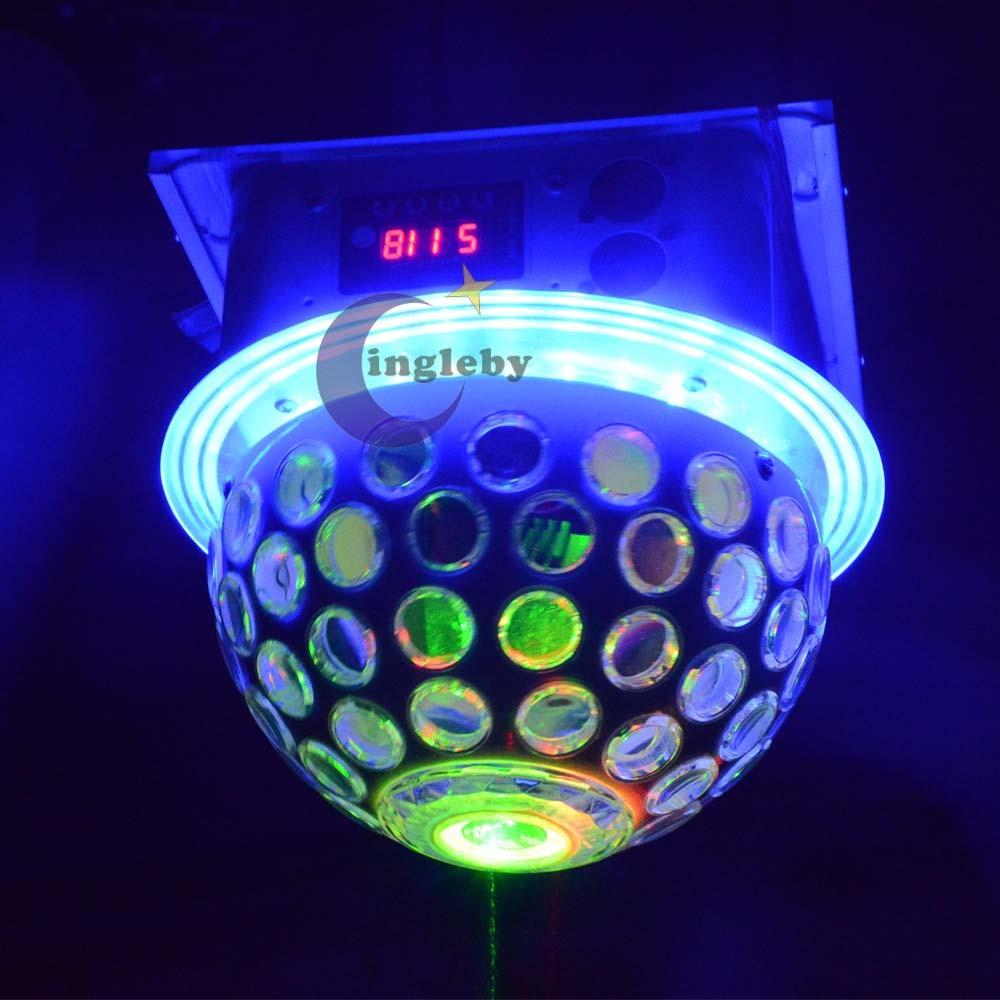 Laser 2in1 Led Jamur Lampu Panggung 30 Cm Diameter Item Cahaya Sepeda Warna Warni Merah Hot Penjualan
