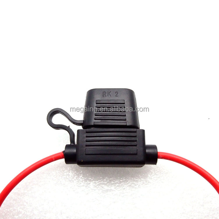 5//10//15//20//25//30A Fuses and  Fuse Holder Car Splash Proof 12V In-Line Mini Blade