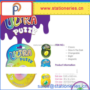new design ultra putty in egg tube magic magnetic thinking putty