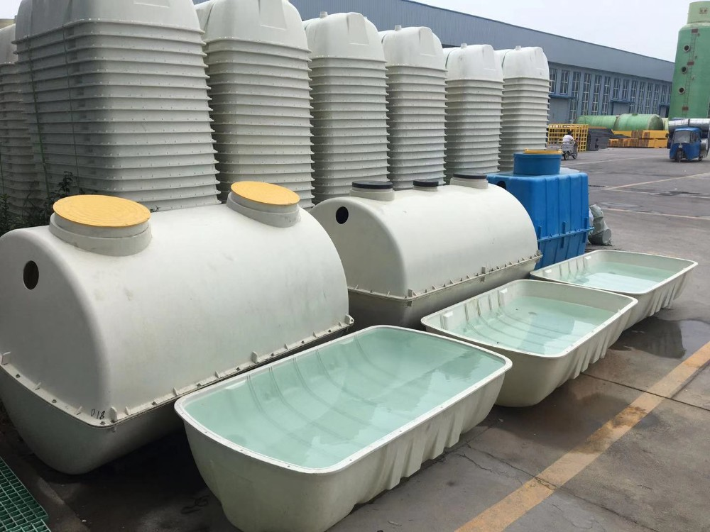 Small Biodigester For Sewage Treatment Fiberglass Septic System Water Tank  - Buy Reinforced Plastic Septic Tank 1000 Gallon 2000 Gallon 500 Gallon 200