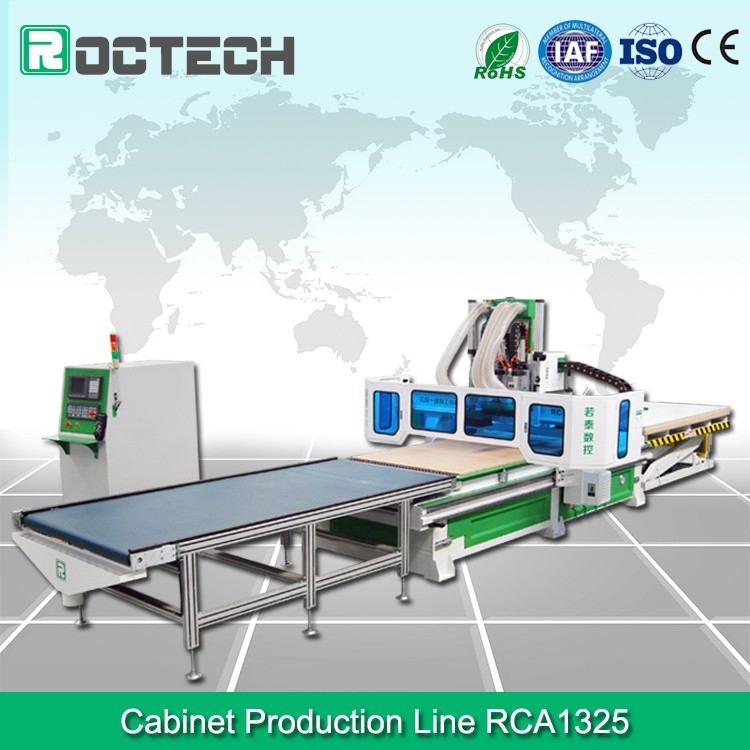 Auto Feeding 1325 ATC CNC Router for Cabinet RCA1325