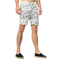 Custom Printed Shorts Men Organic Cotton Swimming Trunk Mens Wholesale