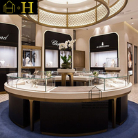 Newest elegant customized retail sstore interior decorations for jewelry store