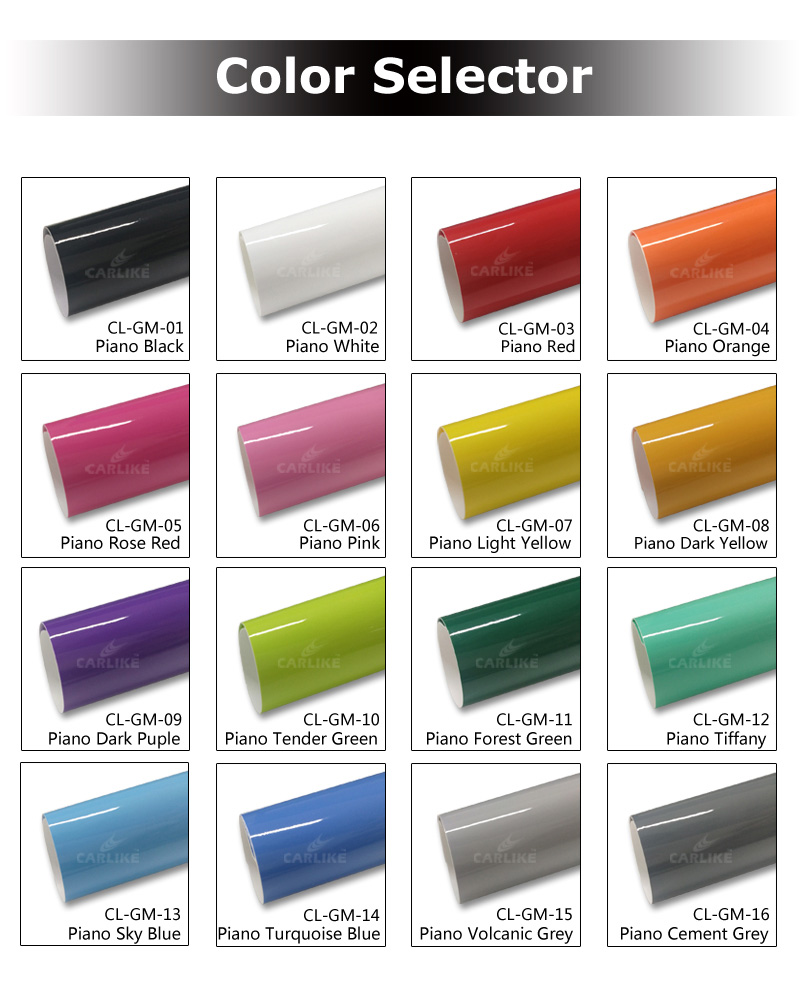 CARLIKE Factory Price Super Gloss Piano  Body Protect Wrapping Film For Car
