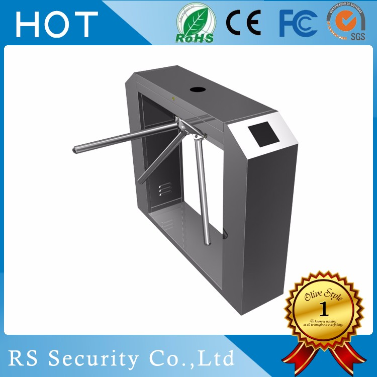 Competitive shenzhen AutoB brand CE and ISO9001 2008 approved tripod turnstile hs code