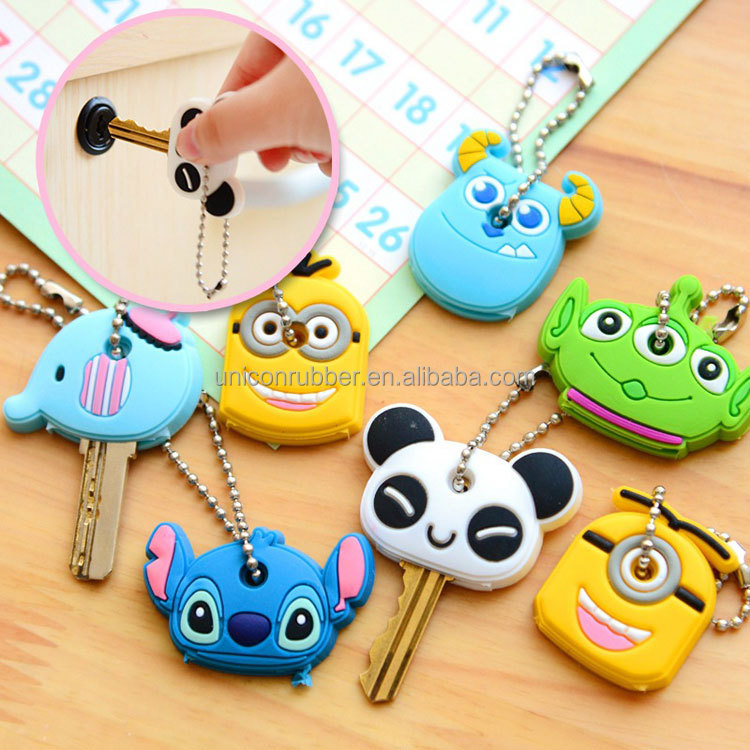 hot selling high quality newest silicone rubber key case
