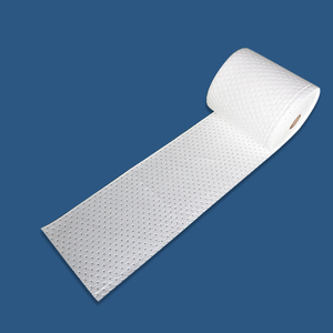White 100% PP Oil Absorbent Roll