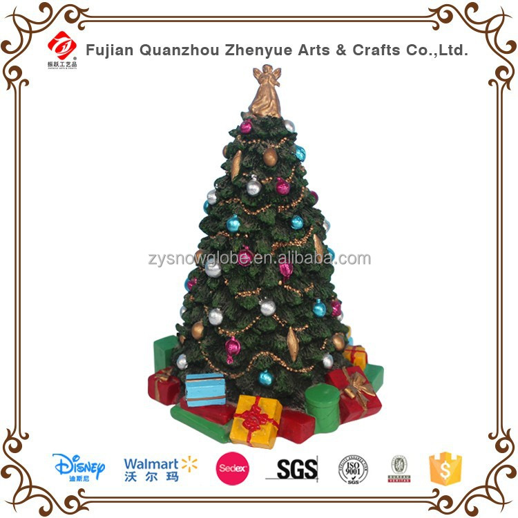 2015 newest resin christmas tree decorations