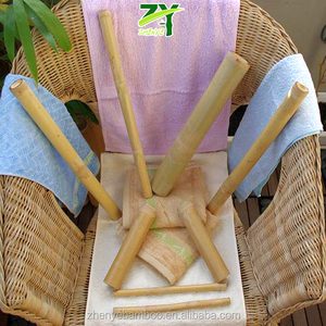 ON SALES !! ZY-1719 Bamboo Massage Kit Poles Body Massage Sticks Calm Smooth Massage Poles